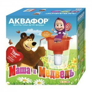 "Фильтр-кувшин Аквафор Кантри ""Маша и Медведь"""